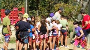 Breafing para un grupo de colegio