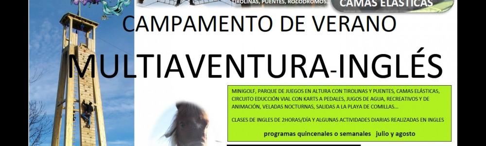 Campamentos Multiaventura Inglés Cabuerniaventura Cantabria