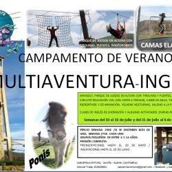 Campamentos de Multiaventura Inglés 2016