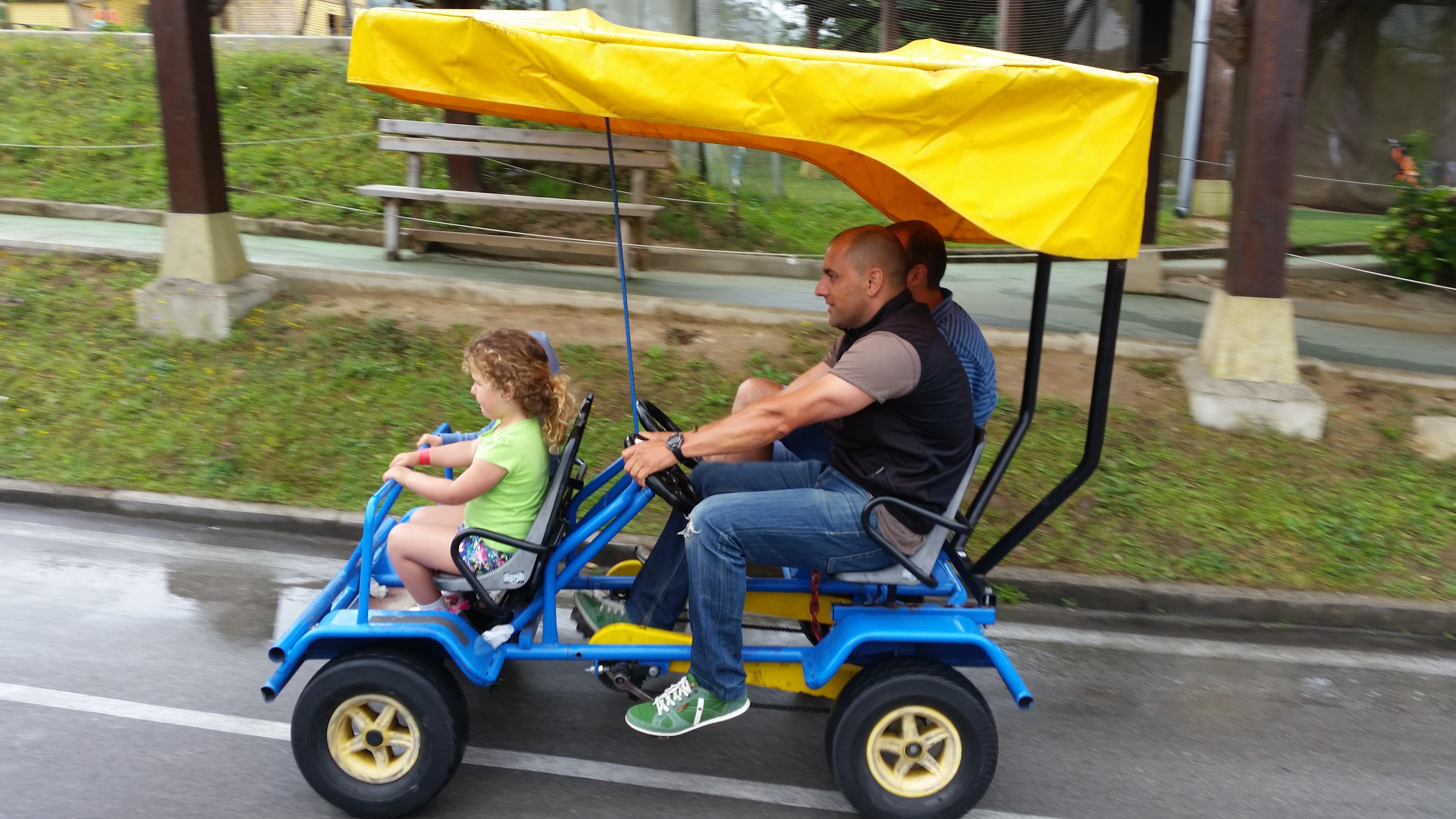 Circuito Educación Vial Karts a pedales