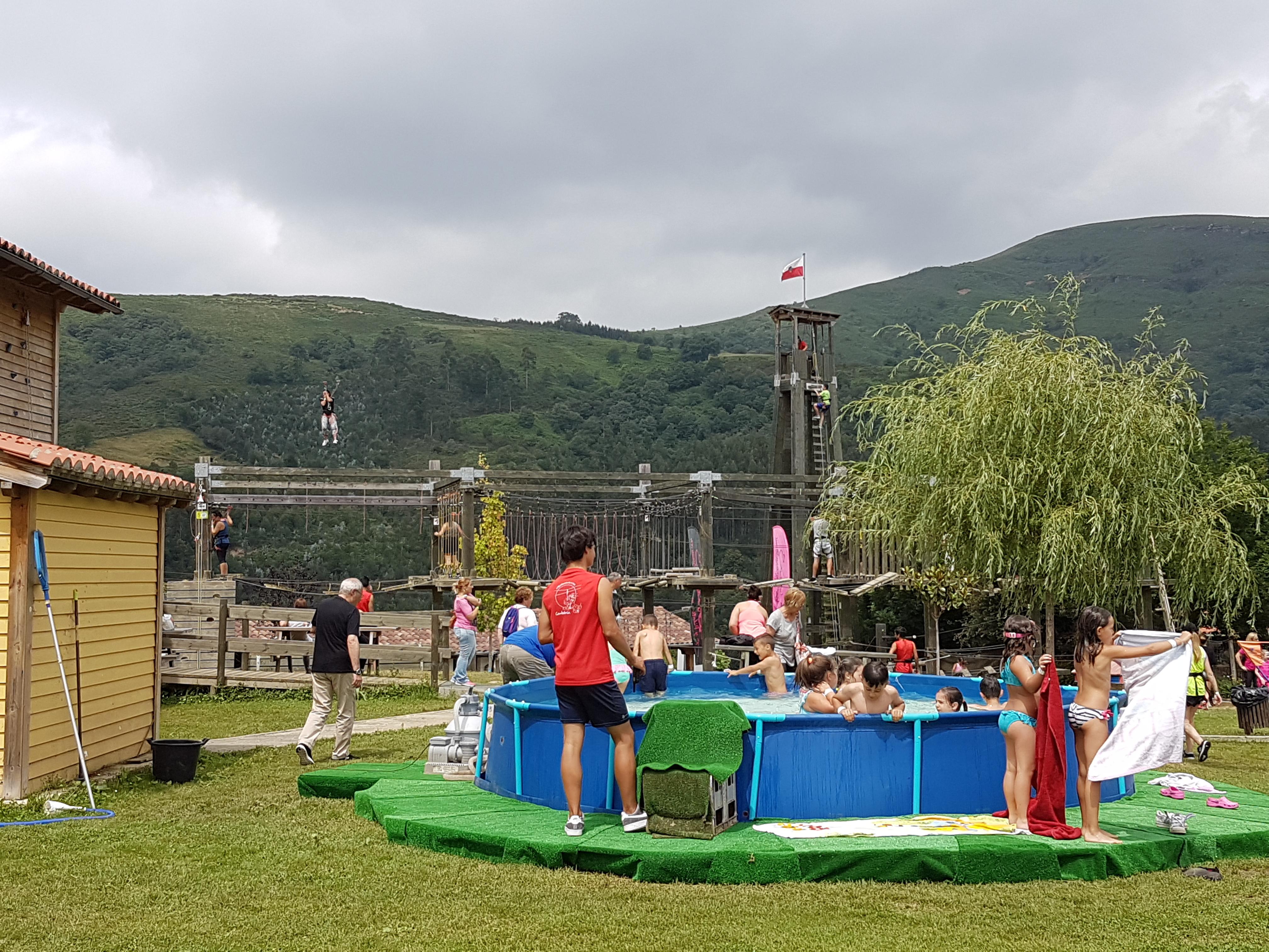 Juegos de agua y actividades recreativas