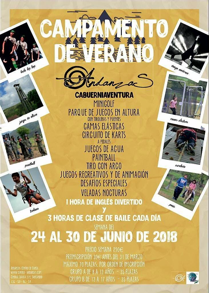 CAMPAMENTO DE DANZA URBANA CANTABRIA 24-30 DE JUNIO18